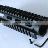 SUNGUN MTS0007 7 inch AR Quad Rail Hand Guard For CAR Size AR15/M4/M16 (7 INCH Carbine size quad rail)