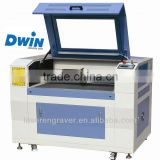 640mm china co2 Laser tag and stamp cutting and Engraving Machine DW640 model