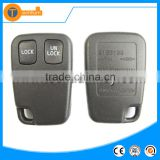 high quality 2 button universal remote key shell with letter on back without logo for volvo xc90 s60 v70 s40