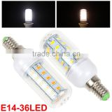 HOT! 5730 SMD LED Corn Light E27 E14 LED Lamp 110V 220V Chandelier Candle Spot Lampada LED Bombillas Ampoule LED lamp