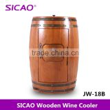 Semiconductor Electric Refrigerator Wine Cooler Wood Barrel Cooler Fridge for Wines and Beers