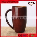 Fashion design water drink big bamboo fibre cup