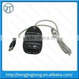 Big sale Black Easy Plug and Play Guitar Link to USB Interface Cable for PC and Video Recording