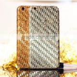 Glitter decal sticker for iphone 6, for iphone 6 bling bling diamond sticker skin case full body