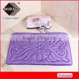 2016 new factory sales sponge bath mats