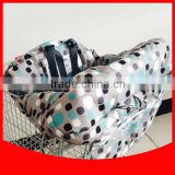 Simple style high chair cover/folding shopping cart cover for baby