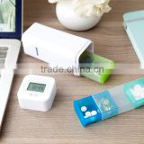 Digital Pill Box Timer With Electric Alarm Medicine Pill Case
