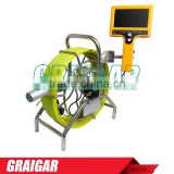 Waterproof plumbing sewer pipe inspection camera Systems water well air duct push rod inspection camera