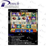 WMS NXT G2 Lancelot gambling slot game board