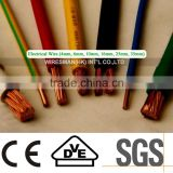 H05V-K/H07V-K 1.5mm2 Fine standard wire Copper clad aluminum Building wire with great price