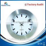 China Sambo Manufacturer Aluminum Plastic wall Clock
