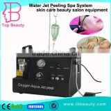 Dispel Chloasma Medical CE / RoHs Approved Water Facial Oxygen Machine Oxygen Jet Facial Peel System Machine From China
