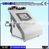 LINGMEI manufacturer 5 in 1 rf cavitation vacuum spa equipment weight loss machine fat burning instrument