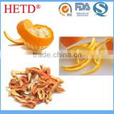 Bulk new harvest orange peel strips sun dried/air dried, pesticides residue strictly controlled