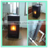 Water heating pellet stoves