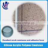 Real stone Silicon Acrylic Polymer Emulsion keep high gloss surface