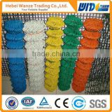 chain link fence parts/square wire mesh chain link fence/plastic covering for chain link fence