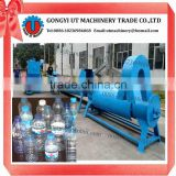 PP PET HDPT Drink bottle crushing machine/waste plastic beverage bottle crushing and washing line
