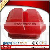Truck spare parts engine mount damper rubber 47300