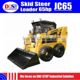 China Skid Loader 65hp Hydraulic Joystick Skid Steer Loader JC65 Bobcat Skid Steer Loader