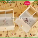 factory price pine wood unfinished wooden gift box for crafts