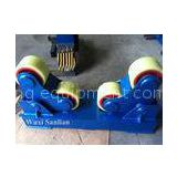 PU Wheels Pipe Turning Rolls with 4kw Motor Power for Boiler