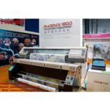 TWINJET PHOENIX 1800 Professional Dye Textile Fabric Epson DX5 Printhead Textile Fabric Printer
