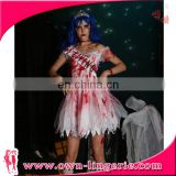 Halloween Zombie Bloody Bride cosplay party costume for adults