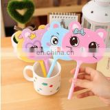 Kawaii Animal Fan design Ballpoint pen signing ball pen funny students' gift kids' toy office school supplies
