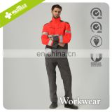 Red High-visibility reflective Road worker Safety Jackets
