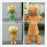 2017 Hot style performance costume pumpkin mascot costume for party