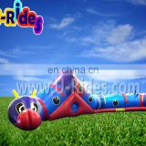 Inflatable bouncer tunnel maze for kids
