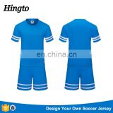 2017 soccer wear top thai dry fit cheap custom sublimation training soccer uniform jersey shirts sets for teams bulk wholesale