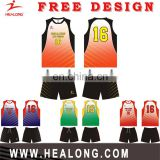 Customized Men's Cloth Volleyball In 2017/2018 New,Sublimation Customized Volleyball Uniform Designs