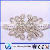Wholesale clothing accessories color lovely charm beaded crystal nail bead women favorite wedding dress accessories