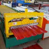 CNC Color Steel Trapezoidal Roof Panel Roll Forming Machine
