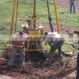 230m Depth Hydraulic Motor Core Drilling Rig used portable water well drilling rigs for sale