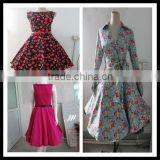 Bestdress cheap pin up 50s 60s Vintage Swing Jive Housewife Evening rockabilly dress boutique