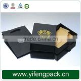 Custom Black Cardboard Boxes Packaging Wholesale Jewelry Paper Gift Box