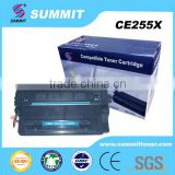 Factory supply Laser Black Compatible toner cartridge for HP CE255X