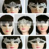 Black and white Venetian Masquerade MardiGras party lace Factory Masquerade Festival Eye Mask Carnival Full Face Dance Mask