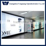 large size Advertising Light Boxes Aluminium Frame Slim led backlit light box, large backlit led advertising board