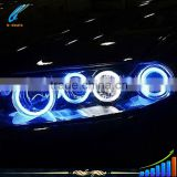 CCFL Halo Angel eyes China wholesale price led light bar CCFL halo rings for 2003 2004 Mazda 6 Headlight
