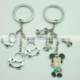 On sale vintage MICKEY MOUSE KEYCHAIN disney productions Handmade DISNEY MICKEY MOUSE Handbag Charm Keychain Penguin keychain