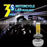 2015 Newest 3S auto led headlight kit h4 h7 h8 h11 9005 9006 with 5 color available for motorcycle