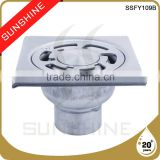 SSFY109B Bathroom and toilet square stainless steel channel drain