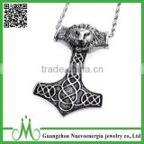 Best selling product stainless steel lion head pendants punk animal pendant designs                                                                                                         Supplier's Choice