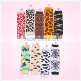 Fancy baby cotton leopard print baby leg warmers wholesale cycling socks                                                                                                         Supplier's Choice