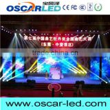 p4 Die casting aluminum cabinet with CE ROHS ISO Certificate flexible led curtain display rental led display