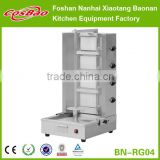 BN-RG04 Automatic Shawarma machine with 4 burners with flameout protection device, shawarma grill machine, kebab grill machine